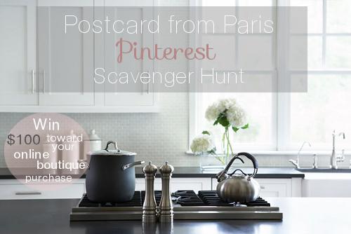PFP Pinterest Scavenger Hunt
