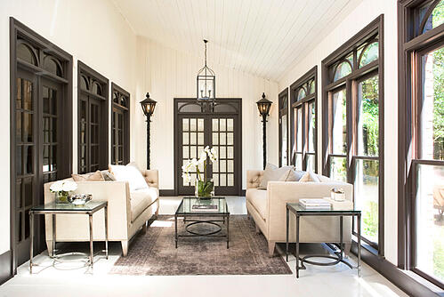McDougald Household:: Sunroom After