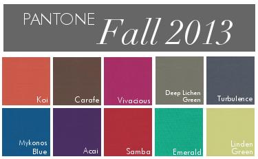 Fall 2013 Colors- Linda McDougald Design | Postcard from Paris