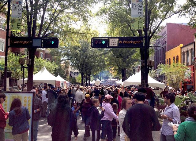 Fall For Greenville Festival