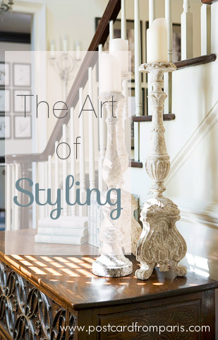 The Art of Styling- Linda McDougald Design | Postcard from Paris
