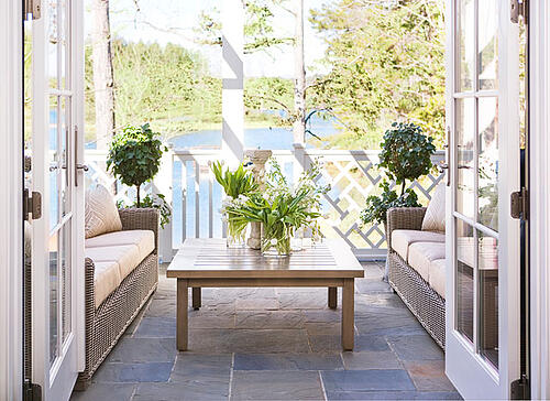 Outdoor Spaces for Summer- Linda McDougald Design   Postcard from Paris Home