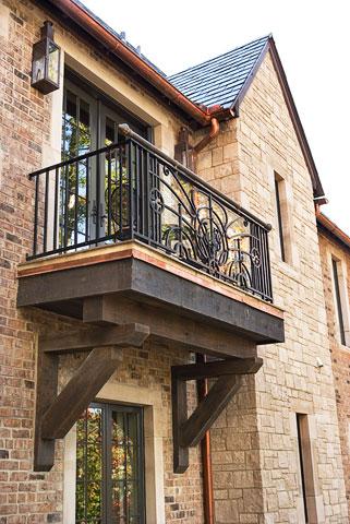 Antique Balcony-Linda McDougald Design | Postcard from Paris Home