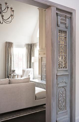Antique Doors- Linda McDougald Design | Postcard from Paris Home