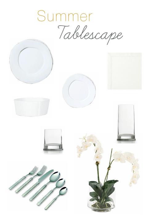 Get the Look:: Summer Tablescape- Linda McDougald Design   Postcard from Paris Home