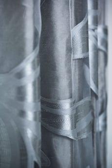 Curtain pattern detail