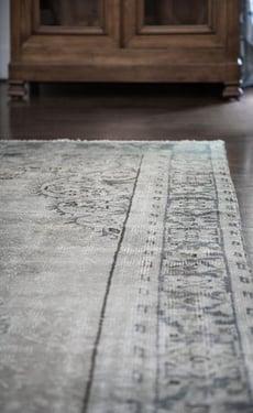 Antique Gray Carpet Pattern