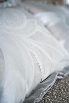 Throw pillow pattern detail